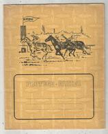 Protége Cahier , Erbé , Hippisme , Course De Chevaux , 4 Scans , Frais Fr 1.95 E - Book Covers