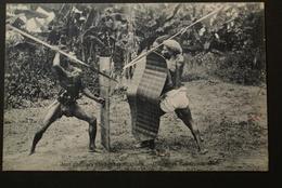 Congo Belge  - Jeux Guerriers D'indigènes Ababoua - Belgisch-Congo - Varia