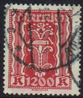 Osterreich 1922, MiNr 392, Gestempelt - Usados