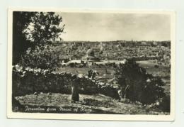 JERUSALEM FROM MOUNT OF OLIVES   - VIAGGIATA FP - Israel