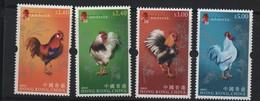 LOT 120 - HONG KONG N° 1183/1186 ** -  COQ - Ferme