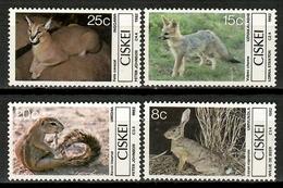 Ciskei 1982 / Animals Mammals MNH Fauna Mamíferos Säugetiere / Cu15202  41-10 - Sellos