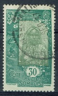 French Somali Coast, 30c., Djiboutian Woman, 1925, VFU - Used Stamps