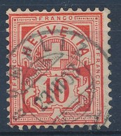 "HELVETIA - Mi Nr 54 - Cachet ""BUMPLIZ"" - (ref. 1662) - Used Stamps"