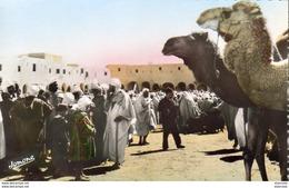 ALGERIE  GHARDAIA  La Place Du Marché  ..... - Ghardaïa