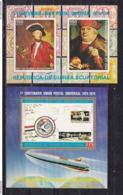 369k * ÄQUATORIAL GUINEA BLOCK 109/10  * 2 FEINE WERTE UPU * POSTFRISCH **!! - Äquatorial-Guinea