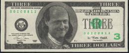 ETATS UNIS FANTASY NLP 3 DOLLARS 1996 BILL RODHAM  UNC. - Etats-Unis