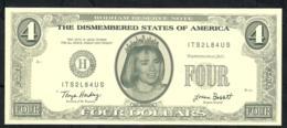 ETATS UNIS FANTASY NLP 4 DOLLARS 1996 RODHAM  UNC. - Etats-Unis