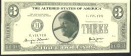 ETATS UNIS FANTASY NLP 3 DOLLARS 1996 CLINTON COUPLE    UNC. - Etats-Unis