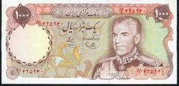 IRAN P105d 1000 RIALS 1974signature 12 UNC. - Iran