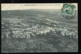 CPA 88 REMIREMONT à Vol D'oiseau Et La Vallée De La Moselle - Remiremont