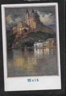 AK 0374  Stift Melk An Der Donau - A. Reckziegel Künstlerkarte Um 1920 - Melk