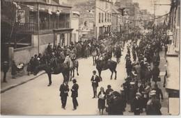 SAINT JAMES - Carte Photo De La Mi Carême 1926 - Cavaliers Précédant Les Chars ( Carte Animée Et Rare ). - Francia