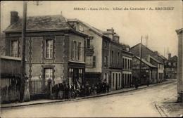 Cp Bernay Eure, Route D'Orbec, Hôtel Du Cerisier, Vue Générale - Francia