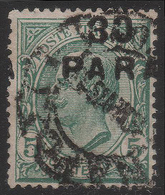 LEVANTE - COSTANTINOPOLI - Francobollo D'Italia 1901/20: 30 Pa. Su 5 C. Verde (81) / 8a Emissione Locale  - 1922 - Oficinas Europeas Y Asiáticas