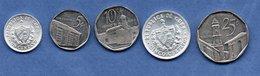 Cuba /  Lot De 5 Monnaies - Cuba