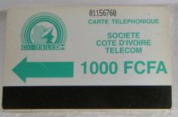 SCHEDE TELEFONICHE, COSTA D' AVORIO,  01156760 - Costa D'Avorio
