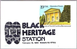 BLACK HERITAGE. MASKS - MASCARAS. Newark NJ 1994 - Otros