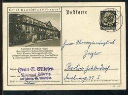 """Deutsches Reich / 1941 / Bildpostkarte """"BRAMBACH"""" Stegstempel Halle (1971) - Deutschland"""