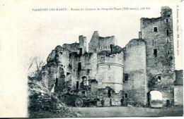 N°78305 -cpa Varennes Les Narcy -ruines Du Château De Passy Les Tours- - Autres Communes