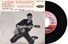 PREMIER EP VOGUE JOHNNY HALLYDAY - 1960 - VOIR DESCRIPTION - - Rock