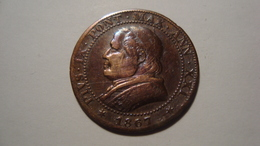 MONNAIE VATICAN 1 SOLDO 1867 - Vatican