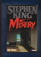 """""""""""  MISERY  """""""" --  Stephen KING   --  1989  --  TTBE - Fantastique"""