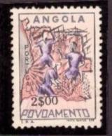 Angola 1965 - Selo De Assistência  - Povoamento 2$00 Cond. MNH #  Settlement In Angola - Angola