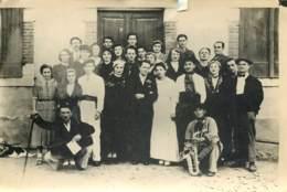 64 - SEVIGNACQ THEZE - Photo + Acte De Publication De Mariage Famille Darribere Pleyt / Ducournau En 1930 - Luoghi