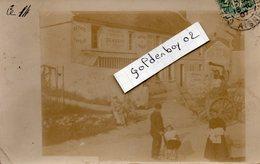 02 Givry Belleau, Rare Carte Photo, Maison Demblon, Ateliers De Construction, Batteuses A Vapeur - Autres Communes