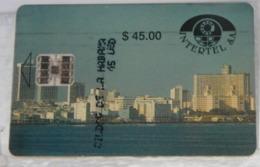 SCHEDE TELEFONICHE, CUBA, PANORAMA - Cuba