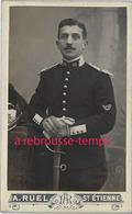 CDV -officier 30e Dragons-photo Alfred Ruel à Saint Etienne - Guerre, Militaire