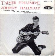 PREMIER EP VOGUE JOHNNY HALLYDAY - 1960 - POCHETTE SEULE SANS DISQUE - VOIR DESCRIPTION - - Rock