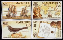 Mauritius - 2001 - Bicentenary Of Baudin Expedition - Mint Stamp Set - Mauricio (1968-...)