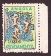 Angola 1965 - Selos De Assistëncia  - Povoamento 10$00 Cond. MNH #  Settlers In Angola - Angola