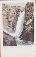 Voringfos Eidfjord Hardanger Noorwegen Norway Norge Norvege AK Norwegen CPA Postcard Brevkort Scandinavia Skandinavien - Norvège