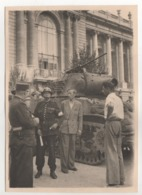 ° PARIS ° LIBERATION ° DEFILE ° TANK ° CHAR ° LOT DE 4 PHOTOS ° - Krieg, Militär