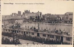 Antwerpen Anvers Strand Zicht Op De Zwemdok En Oud Braband - Antwerpen