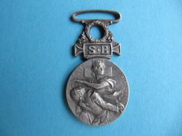 Médaille Société Française De Secours Aux Blessés Militaires 1864-1866 Graveur Bottee - Medals