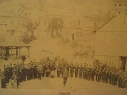 CAILLY. Photographie Ancienne. Souvenir Des Manœuvres De 1889 / Militaires Normandie - Photographs