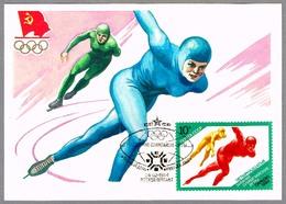Winter Olimpic Games SARAJEVO 1984 - PATINAJE DE VELOCIDAD - Speed Skating. Moscu,1984 - Invierno 1984: Sarajevo