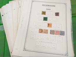 LOT N° 1174  EUROPE Reste De Collection Sur Page D'albums Neufs * Ou Obl - Timbres