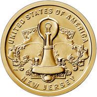 "USA, 2019 Innovation, $1 Coin ""P"" New Yersey - Non Classificati"