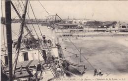 44. SAINT NAZAIRE. CPA  . RARETÉ. LE BASSIN. CHANTIERS DE LA LOIRE. ANNÉE 1914 + TEXTE - Saint Nazaire