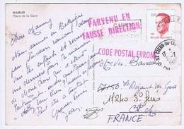 CHARENTE-MARITIME - Cachet Manuel ST CIERS-DU-TAILLON Du 21 -7  1988 + Code Postal Erroné Et Fausse Direction - Cachets Manuels