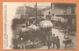 RARE -TRES BELLE C.P.A - LE PUY - Le Départ Des Courriers - MALLE POSTE - DILIGENCE- COURRIER - CARTE EN T.B.E - Le Puy En Velay