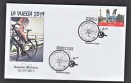 2.- SPAIN ESPAGNE 2019 SPECIAL POSTMARK LA VUELTA - CYCLING 2019 BILBAO BASAURI - Cycling