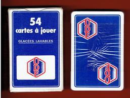 UDF UNION POUR LA DEMOCRATIE FRANCAISE JEU 54 CARTES A JOUER 1978 VALERY GISCARD D ESTAING JJSS PONIATOWSKI - Organisations
