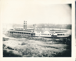 Grande Argentique Steamship Steamboat Indiana Rock Hill Steamboats Boat Ship - Boats