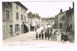 CPA (54) Maxéville. La Rue De L'Orme.  TTB.  (M.586). - Maxeville